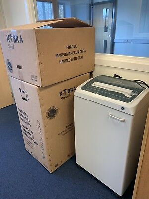 Kobra 310 TS C4 High Performance Hi Security Shredder - brand new RRP £2550