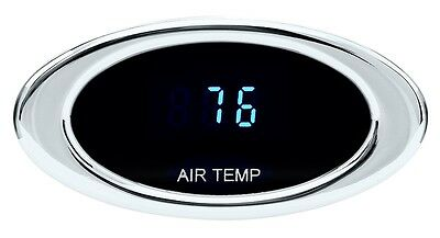 Dakota Digital Ambient Air Temperature Gauge Satin or Chrome Oval Bezel ION-14-1