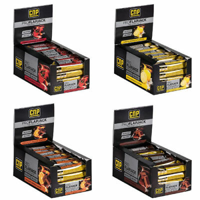 CNP Pro Flapjack High Protein Low Sugar Pro Flapjacks Protein Bars 24 x 75g