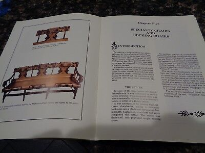 Vtg Book/antique /country Chairs Of Central Pa/cabinetmakers 1814-80/1990/rare