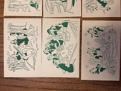 Girl Scout Camp Postcards Full Pack Of 8