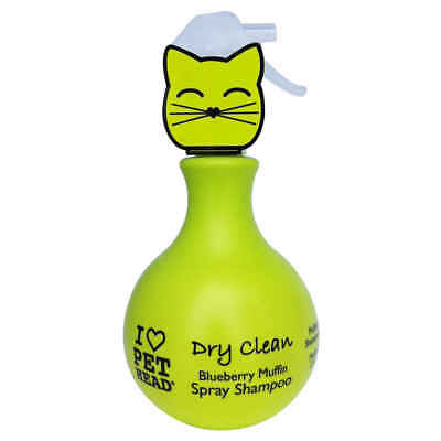 Spray Shampoing Sec Dry Clean pour Chat - Pet Head - 450ml