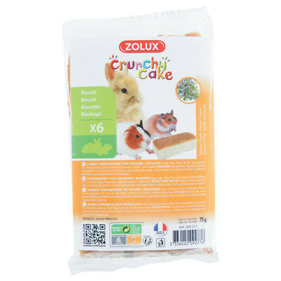 Biscuits Crunchy Cake au Thym pour Rongeurs - Zolux - x6