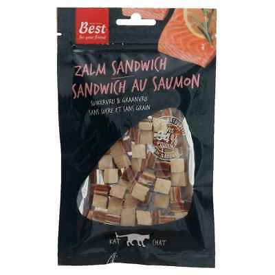 Sandwich de Saumon Naturel pour Chat - Best for your Friend - 50g