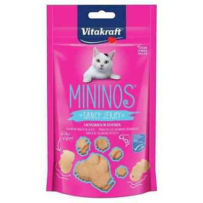 Friandises Mininos Fancy Jerky Saumon pour Chat - Vitakraft - 40g