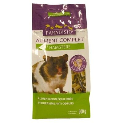 Aliment Complet pour Hamsters - Paradisio - 900g