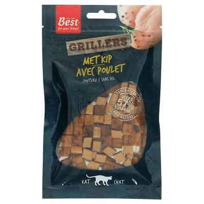 Grillers avec Poulet Naturel pour Chat - Best for your Friend - 50g
