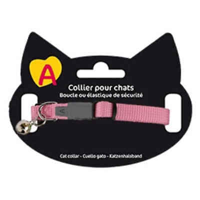 Collier Basic pour Chat - Animalis - Rose
