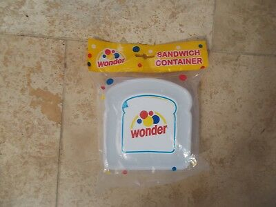Wonder Bread Sandwich Container NEW sealed in plastic!