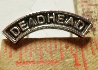 Vintage Grateful Dead Head pin rock-roll music Deadhead collectible old pinback