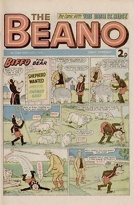 The Beano Comic #1654 March 30th 1974 - very good condition