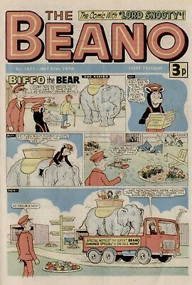 The Beano Comic #1671 July 27th 1974 - very good condition