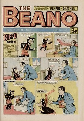 The Beano Comic #1670 July 20th 1974 - very good condition