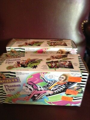 Rare Lot Of 2/vintage Beetlejuice Phantom Flyers-Brand New Old Stock-Mint-Kenner