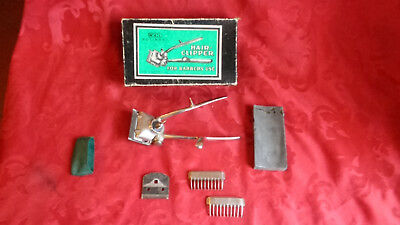 Vintage Tagliacapelli Hair Clipper Solingen Wal Da Barbiere Lame Rasoio Germany