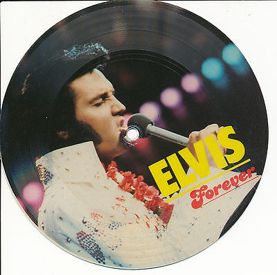 "Elvis Presley 45 Tours 7"" Picture Disc Denmark Love Me Tender+"