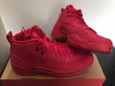 the latest c2942 0dcd3 Air Jordan Retro 12 XII Gym Red Black 130690-601 New DS Size 12