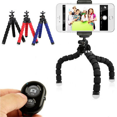 Flexible Octopus Stand Tripod Mount Holder for Samsung iPhone Phone Huawei Hot