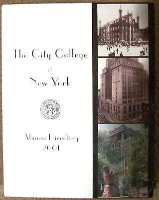 The City College Of New York 2001 Alumni Directory (Hardcover) Book