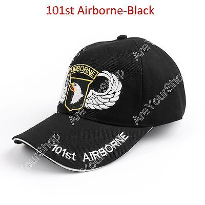 US Army 101st Airborne Division Military Eagle Wing Ball-Kappe Kappe Adjust BS3