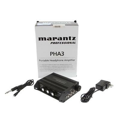 Marantz PHA3 Portable Stereo Headphone Amplifier - SKU#1066431