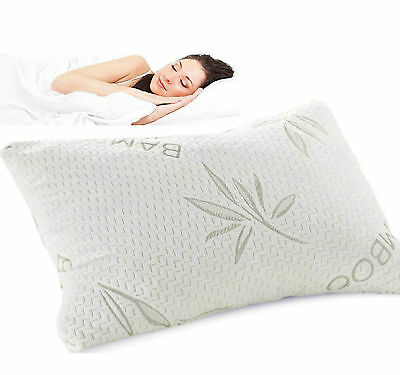 Bamboo Memory Foam, Microfiber,  Contour, Cot Bed, V Shape, Roll Bedding Pillows