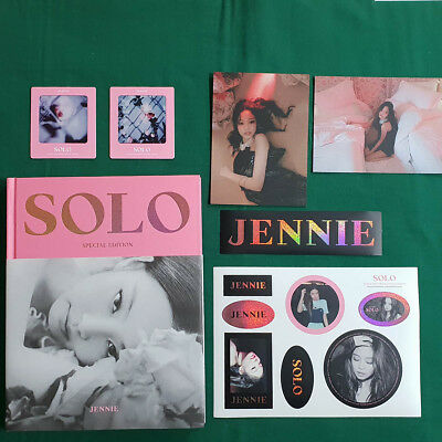 Blackpink Jennie Solo Photobook Special Edition Split Items Collectable Goods
