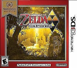 Nintendo Selects: The Legend of Zelda: A Link Between Worlds - 3DS, Acceptable N