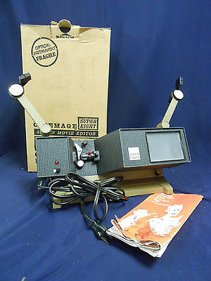 Vintage Cinemage Super Eight Action Movie Editor Hudson Photography Tested WORKS