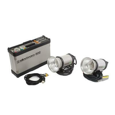 Elinchrom 202 Power Pack 2-Light KIT with 2x S2 Heads - SKU#1037718