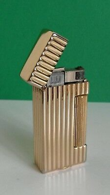 Vintage Dunhill Mini Gold Plated Rollalite - Works