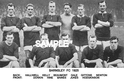 Barnsley FC 1925 Team Photo