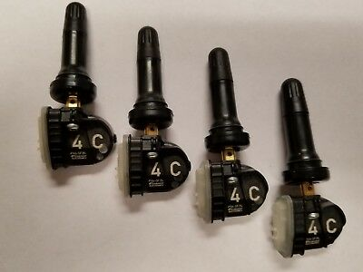(4) Oem Gm Tire Pressure Sensors -Tpms Chevy Gmc Cadillac Buick 13516165 433Mhz