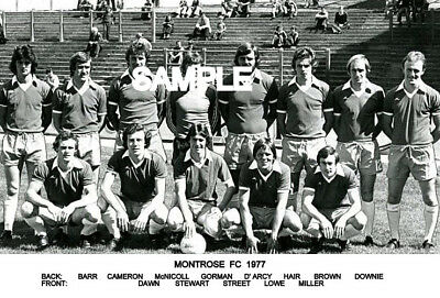 Montrose FC 1977 Team Photo