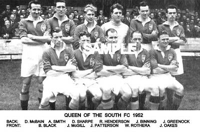 Queen of the South FC 1952 Team Photo