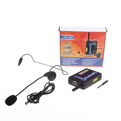 VocoPro UHF-BP1 Wireless Bodypack Transmitter and Headset Microphone for UHF-320