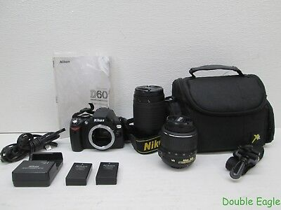 Nikon D60 DSLR Camera - CASUAL TOURIST BUNDLE !