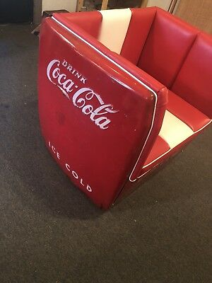 Coca-Cola Westinghouse Soda Pop Machine Chair