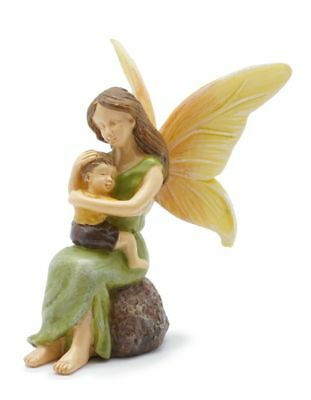 Miniature Dollhouse FAIRY GARDEN - Cherished Child And Mother - Accessories