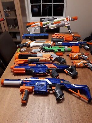 Huge Joblot Of Nerf Guns and accessories