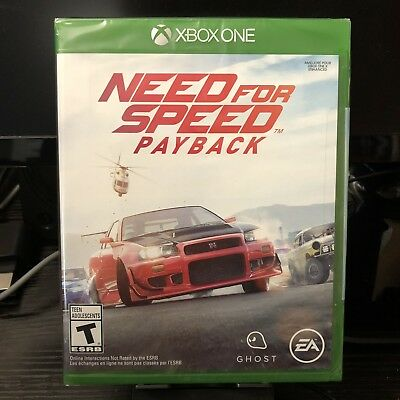 Microsoft Xbox One | Need for Speed Payback | Brand New - SEALED