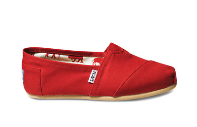 TOMS Women's Classic Red Canvas
