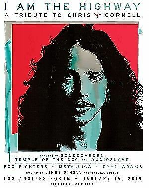 2 Tickets - I  Am The Highway: A Tribute To Chris Cornell  - The Forum Metallica