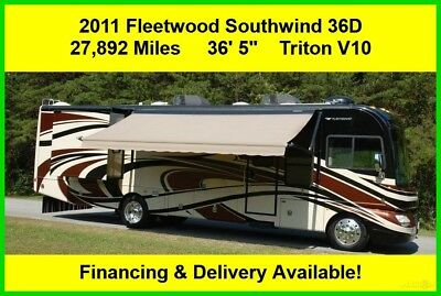 2011 Fleetwood Southwind Used Gas RV Motor Home Coach Motorhome Ford V10 MH
