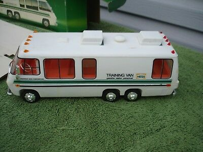 1978-80 Hess Training Van With Box And Inserts Lights Work