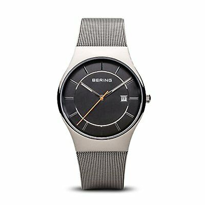 BERING Time 11938-007 Men's Classic Collection Watch with Mesh Band and scratch