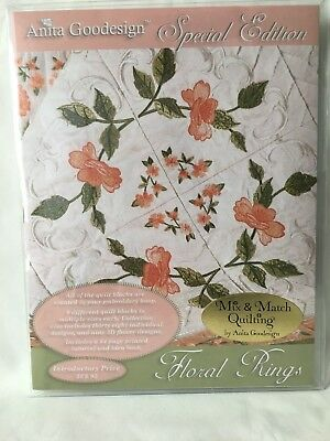 "Anita Goodesign Embroidery Software ""Floral Rings"" Special Edition"