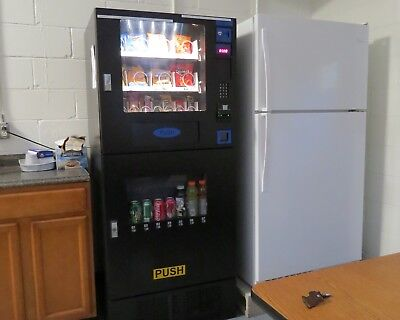 used Seaga combo vending machine GV730