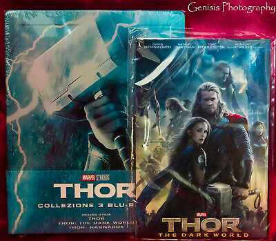 Thor Trilogy Limited Edition Steelbook Blu-Ray Import - Region Free + Art Cards