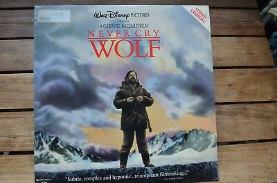 WOLF Never Cry Walt Disney Pictures NEW LaserDisc FREE Post mmoetwil@hotmail.com